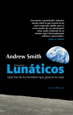 Portada del libro Lunáticos (Moondust)