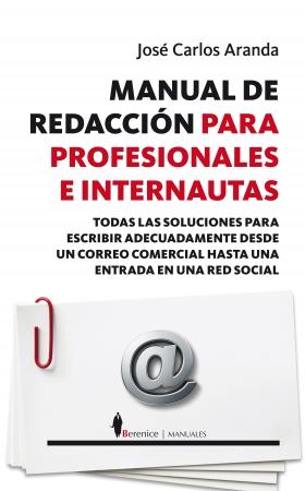 Portada del libro Manual de redacción para profesionales e internautas