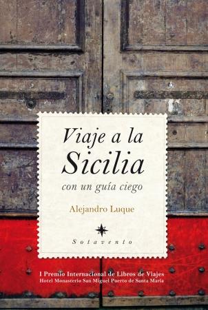 Portada del libro Viaje a la Sicilia con un guía ciego