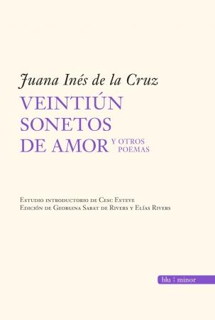 Portada del libro Veintiún sonetos de amor y otros poemas