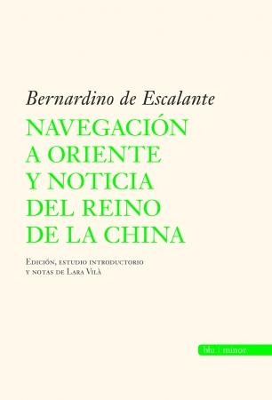 Portada del libro Navegación a Oriente y noticia del reino de la China