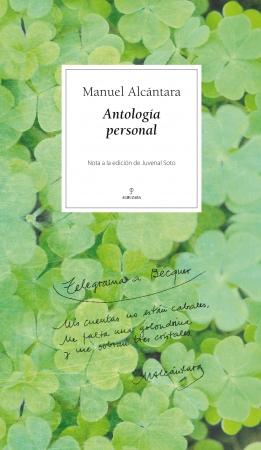 Portada del libro Antología personal. Manuel Alcántara