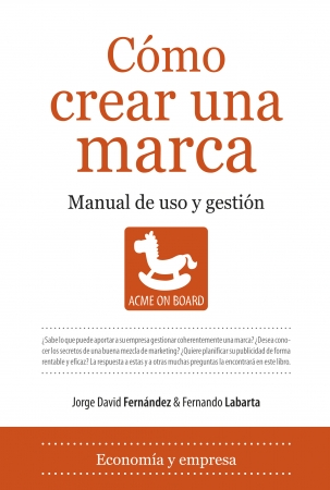 Portada del libro Cómo crear una marca
